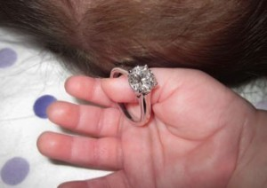 baby and ring
